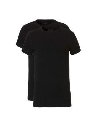 Ten Cate Jongens T-shirt 2Pack Black 10-18Y Teens