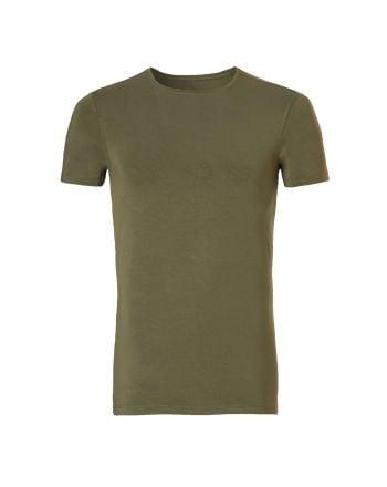 Ten Cate Heren Bamboo  T-shirt Burnt Olive