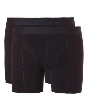 Ten Cate Men Fine Boxershort Zwart 2 pack