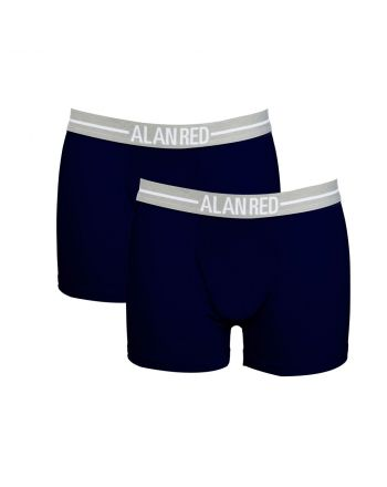 Alan Red Boxershort Lasting 2 Pack Navy