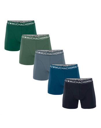 MuchachoMalo Hello Moonlight 5PACK SUPER ACTIE SOLID21 Heren Boxershorts