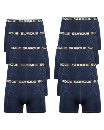 Suaque Navy Boxershorts 10 pack