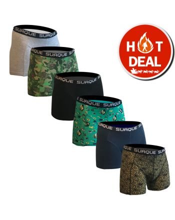 Suaque Boxershorts Bitcoin Madness 6Pack