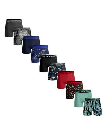 MuchachoMalo 10PACK DECEMBER OL MIX Heren Boxershorts