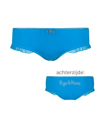 Muchachomalo dames Ruffles Brief Blue