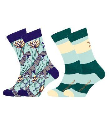 Muchachomalo sokken 2pack Paradise