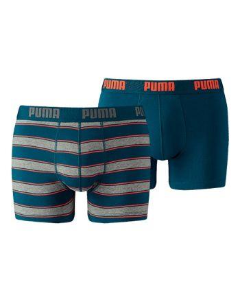Puma heren 2pack Rugby Stripe Blue