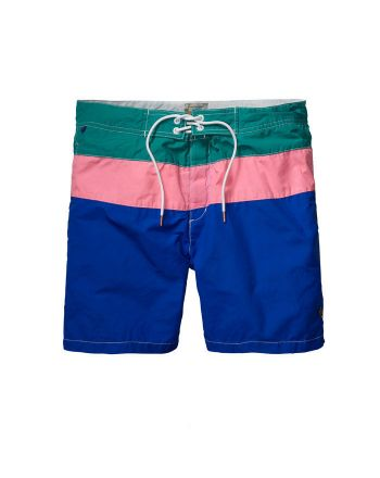 Scotch & Soda heren swimshort Colour Block A