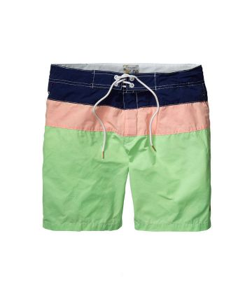 Scotch & Soda heren swimshort Colour Block E