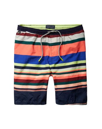 Scotch & Soda zwemshort Coloured Stripe