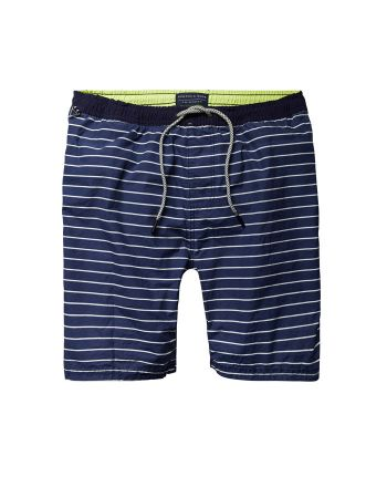 Scotch & Soda zwemshort Navy Stripe