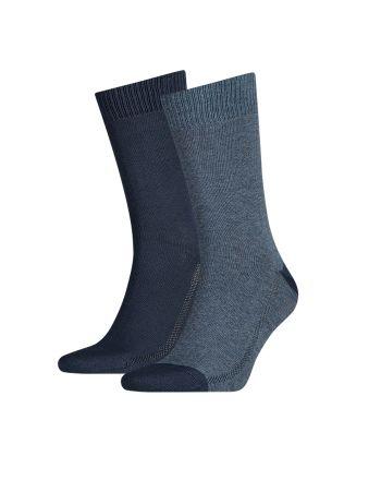 Levi's sokken 2pack Mid Denim