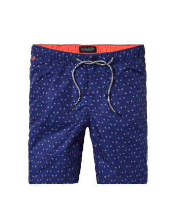 Scotch & Soda heren zwemshort Geo and Patterns