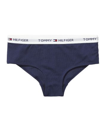 Tommy Hilfiger Iconic cotton dames shorty navy