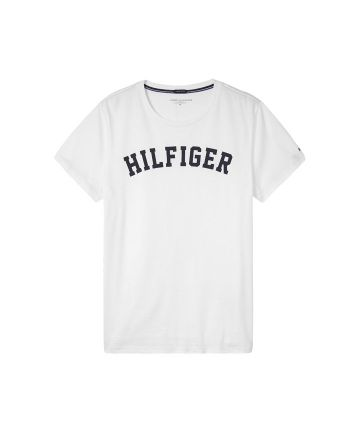 Tommy Hilfiger Tee logo wit