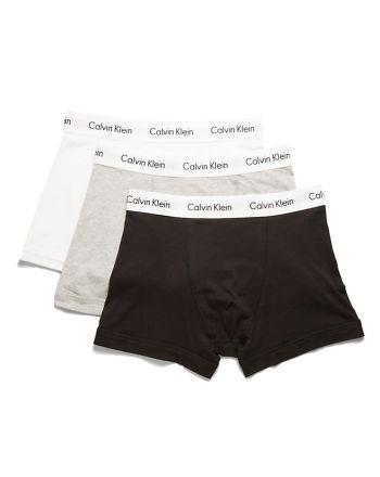 Calvin Klein heren boxershorts 3pack zwart wit grijs