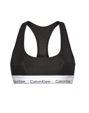 Calvin Klein modern cotton Bralette zwart