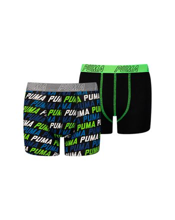 Puma jongens 2pack Repeat Logo Blue Green