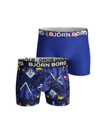 Björn Borg heren 2pack Naito blauw zwart