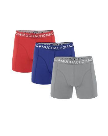 Muchachomalo jongens 3pack Solid 255