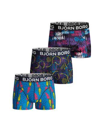 Björn Borg jongens 3pack Alien/ BB/ Sammy
