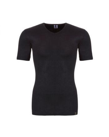 Ten Cate Mannen Thermo V-Shirt Zwart