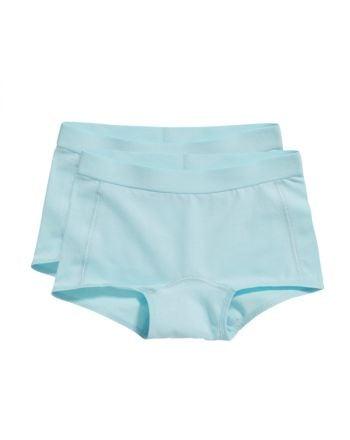 Ten Cate Meisjes Short 2Pack Iced Aqua 2-6Y