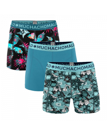 MuchachoMalo 3Pack Extinct Plants Heren Boxershorts