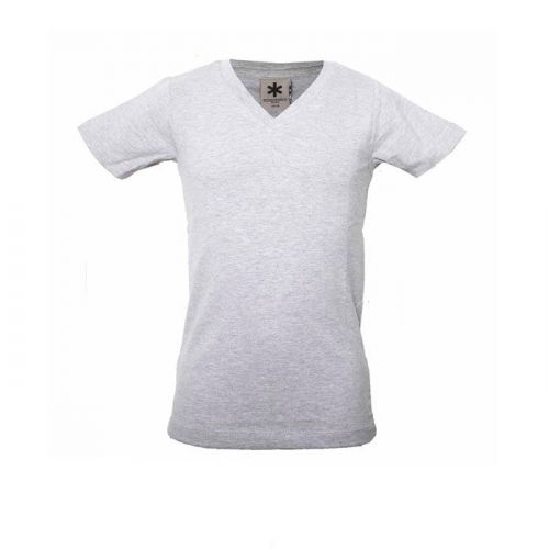 Muchachomalo jongens shirt grijs (V-hals)