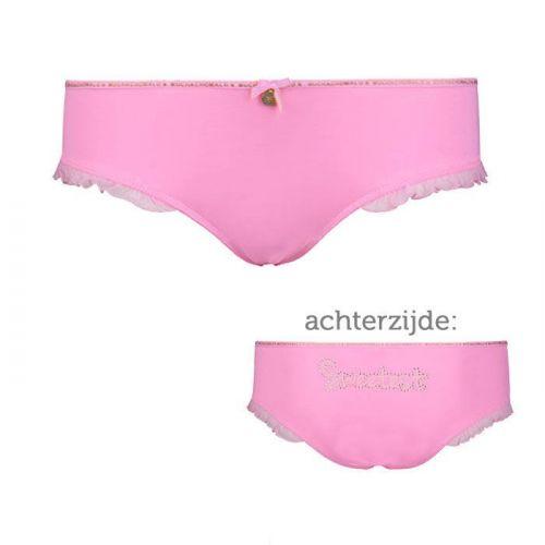Muchachomalo meisjes Ruffles Brief Pink
