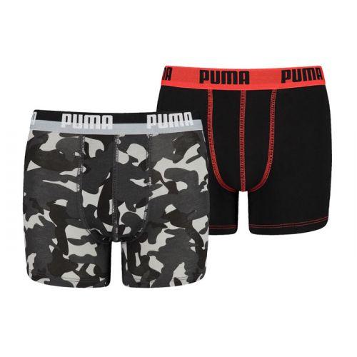 Puma jongens 2pack Camo (Black/White)