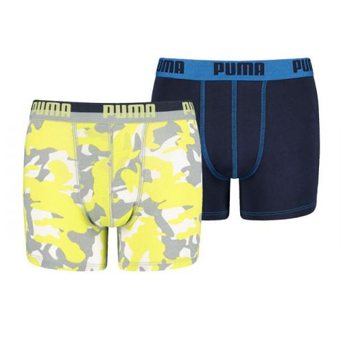 Puma jongens 2pack Camo (Sharp Green)