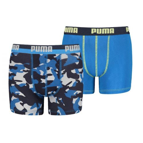 Puma jongens 2pack Camo (Team Royal)