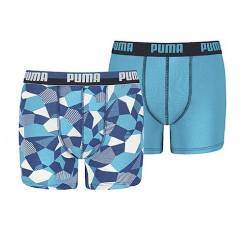 Puma jongens 2pack Camo Rock Blue