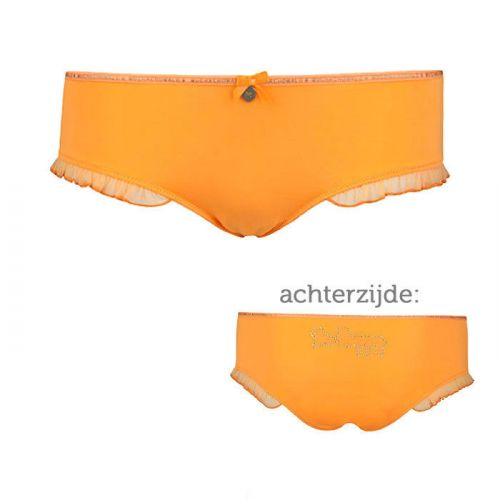 Muchachomalo dames Ruffles Brief Orange