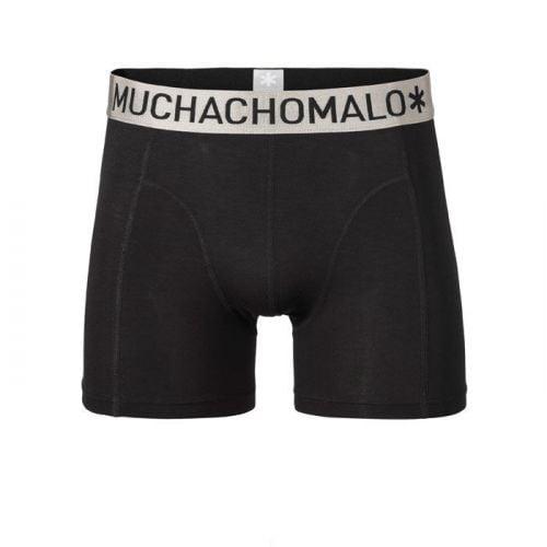 Muchachomalo heren Micro Modal Boxer zwart