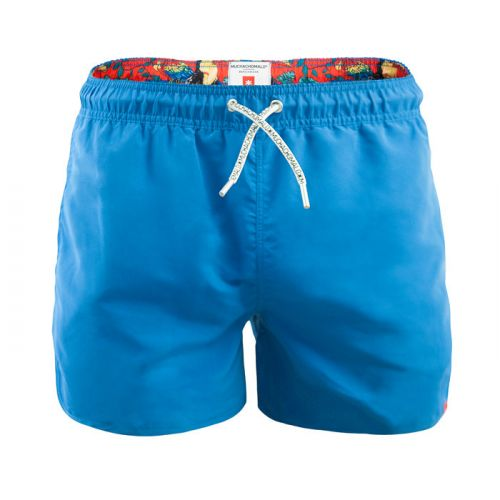 Muchachomalo heren short Boardshort Blauw