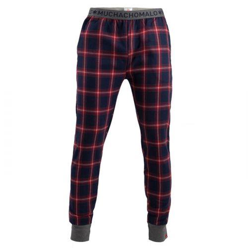Muchachomalo jongens pyjamabroek check red
