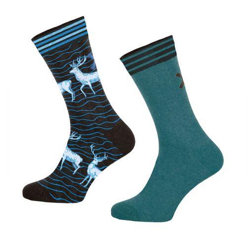 Muchachomalo sokken 2pack Deer