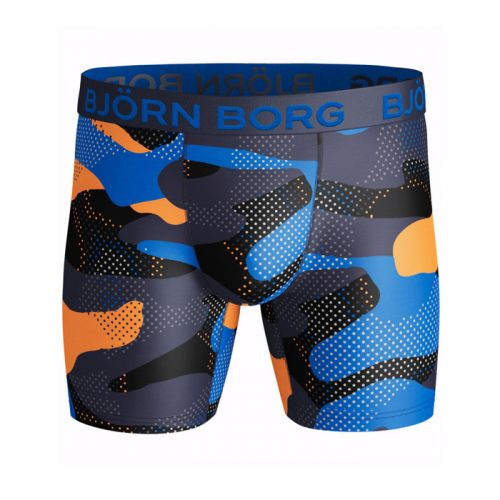 Björn Borg Performance Active 1pack Camo Peacoat