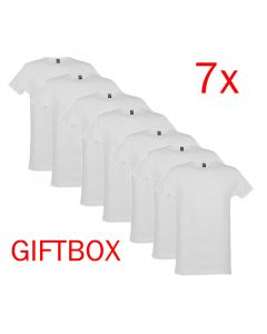 Alan Red T-Shirt Derby Giftbox 7Pack Wit