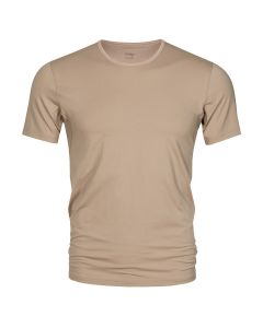MEY Heren T-Shirt Crew Neck Nude Dry Cotton Het Eronderhemd Business Shirt 46082