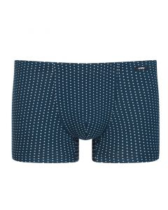 MEY Heren Shorty Boxer Point Yacht Blue 33521