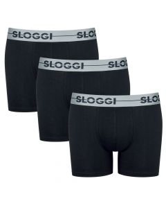 Sloggi Men GO Short Zwart 3Pack