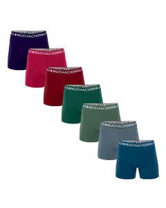MuchachoMalo Moonlight 7PACK SUPER ACTIE SOLID22 Heren Boxershorts