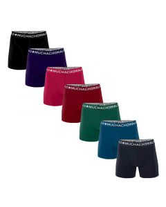 MuchachoMalo Moonlight 7PACK SUPER ACTIE SOLID23 Heren Boxershorts