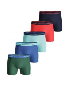 Bjorn Borg Boxershorts 5Pack SOLID Frosty Spruce
