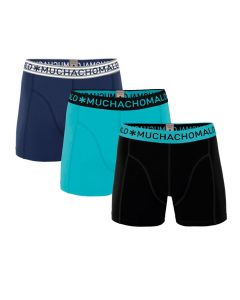 Muchachomalo heren 3pack Solid 228