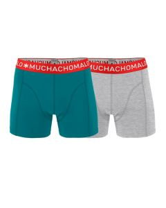 Muchachomalo heren 2pack Solid 262