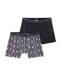 Scotch and Soda heren 2pack Stripes & Frost